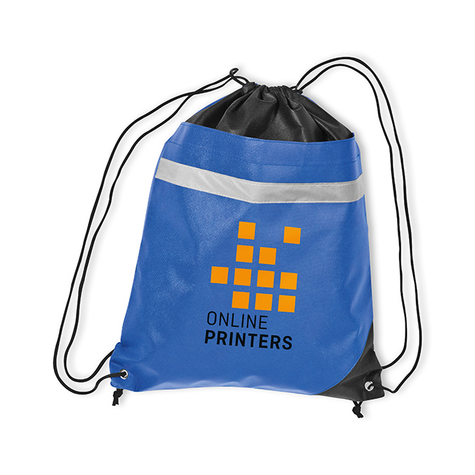 Drawstring bag, spot colour