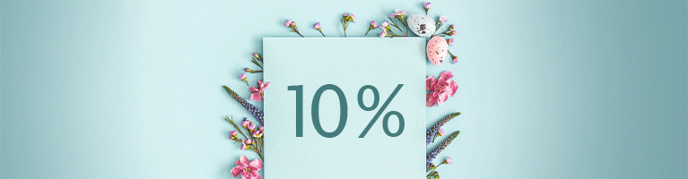 <strong>Save 10 % in April</strong>