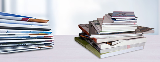 Brochure printing at Onlineprinters