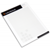 Example: Writing pad with 50 sheets