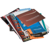Printed on photo image paper, offset paper or recycled paper. Optional cover options are available.
