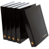 Customised printed binders with a capacity of 25 to 40 mm (also available with optional grip hole)