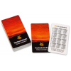 Double-sided (4/4-coloured) pocket calendars with double-sided film lamination