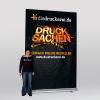 XXL Roller banner: 2.0 x 3.0 m (Ill. is similar)