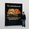 XXL Roller banner: 2.0 x 2.5 m (Ill. is similar)
