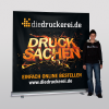 XXL Roller banner: 2.0 x 2.0 m (Ill. is similar)