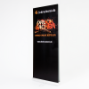 """Please note that ordering this item only includes the printed banner; the complete display system (incl. all the accessories depicted in grey in the image below) can be ordered in the section Â""""roller banners (incl. printing)."""