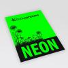 Neon paper green. Similar image.