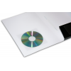Optional: Self-adhesive transparent CD holder