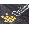 Material close-up: 300 g/m² mesh fabric made of PVC