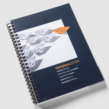 Folded Leaflets Paper Sample Book Printing  Uk