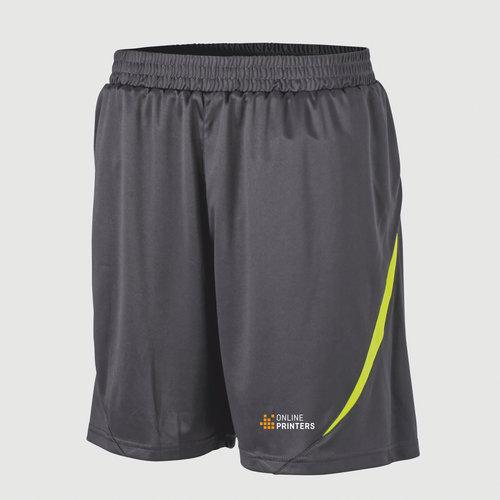 dark grey / neon yellow