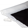 For flag poles with banner arms – sewn casing for banner arm (3 cm max. diameter)