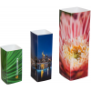 Prism: 4-edged promotional display in 3 different sizes