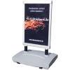Pavement sign exclusive (Ill. is similar): Ideal for outdoor use, even in strong breezes.