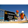 Our tip for construction site signs: Alu-Dibond white is optimal for outdoors use (Ill. is similar) / Image ©iStockphoto.com/shotbydave