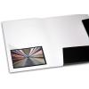 Optional: Self-adhesive transparent triangular pocket