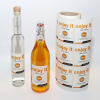 Bottle labels printed online