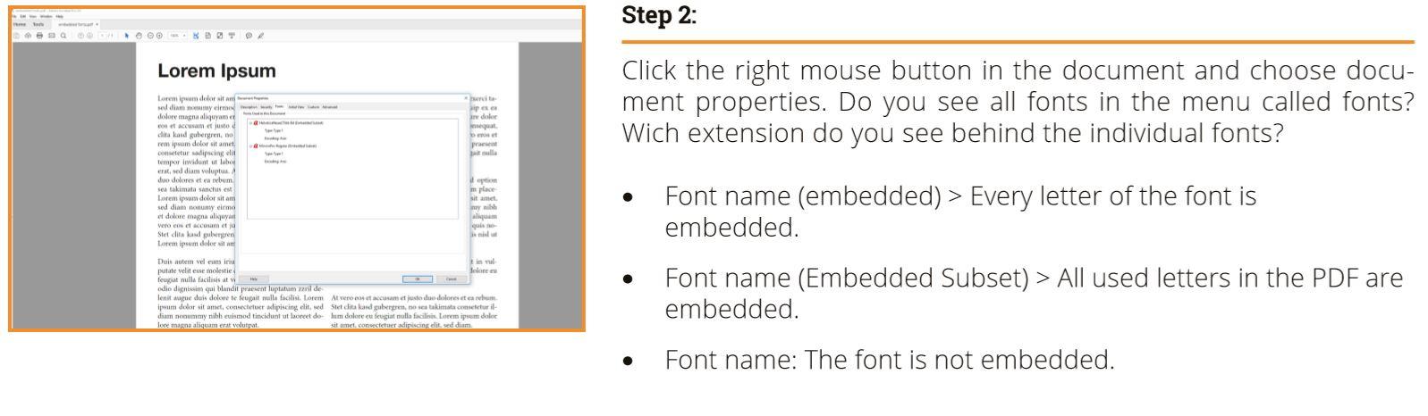 Embedding fonts – with InDesign, Photoshop & Illustrator