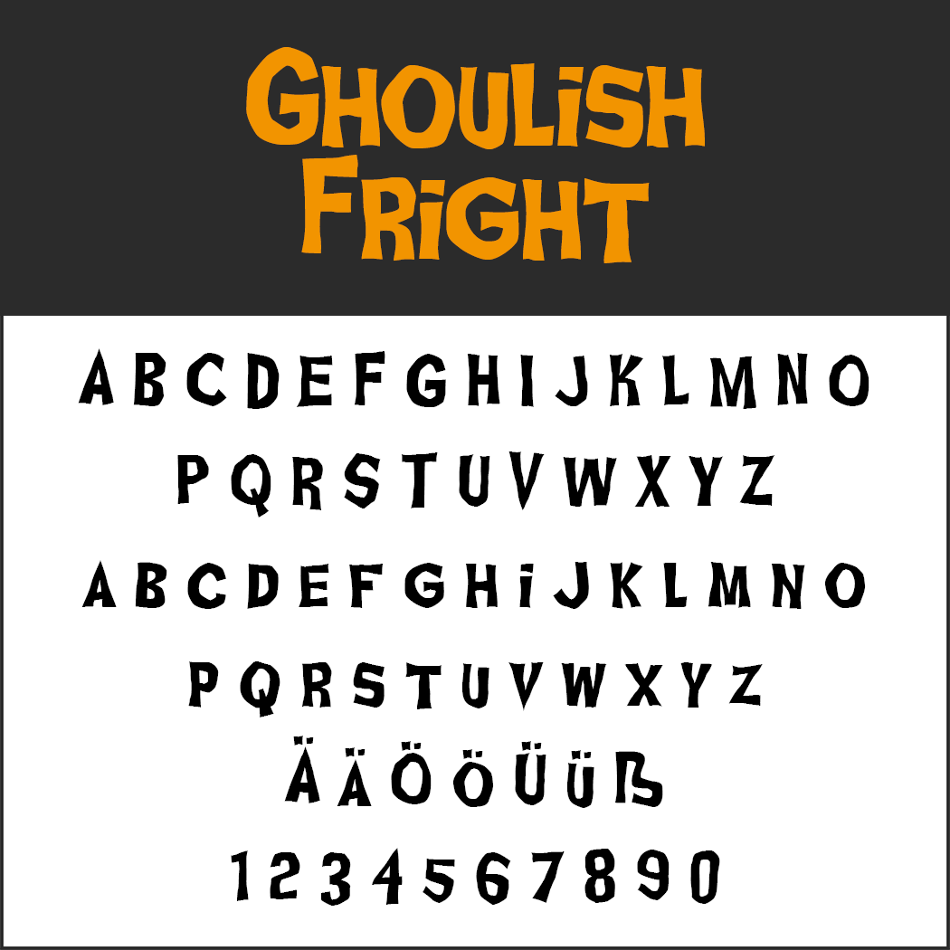 Nightmare Before Christmas Fonts.Free Halloween Fonts Licensed To Make Your Skin Crawl