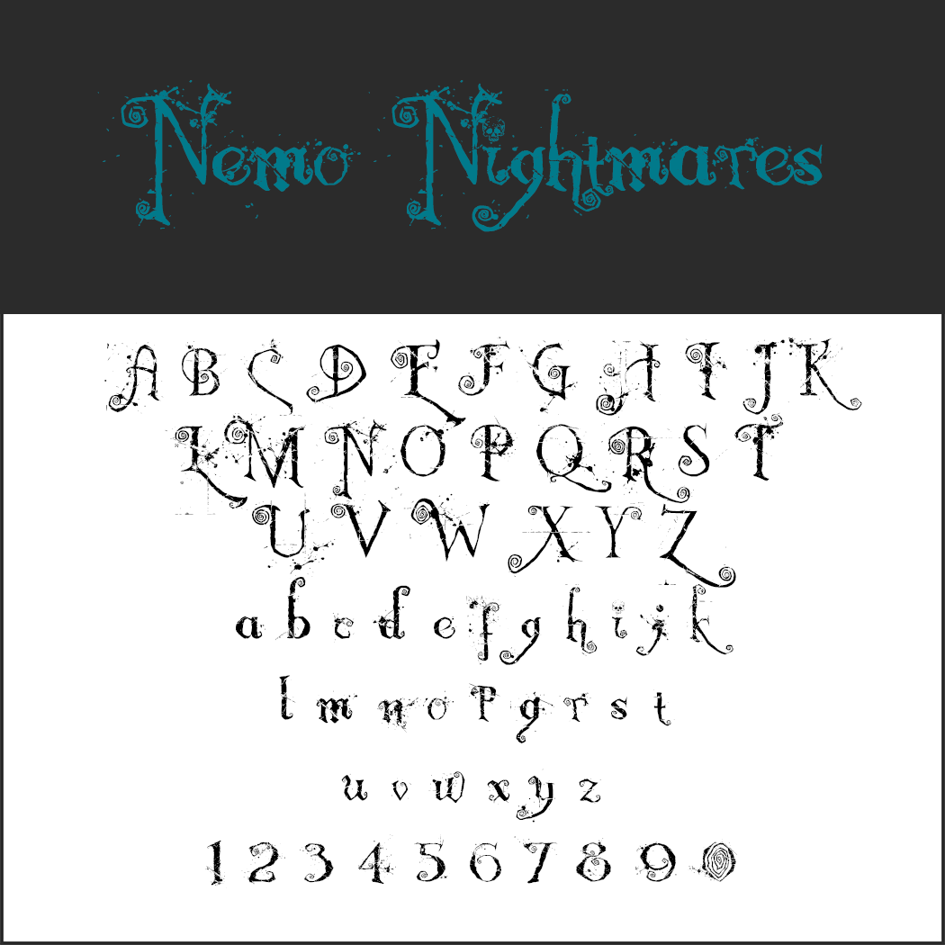 Free Halloween fonts licensed to make your skin crawl