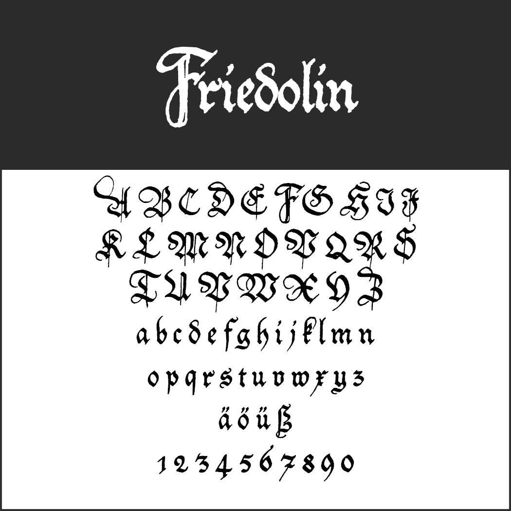 Free Gothic fonts: ten awesome typefaces at a glance