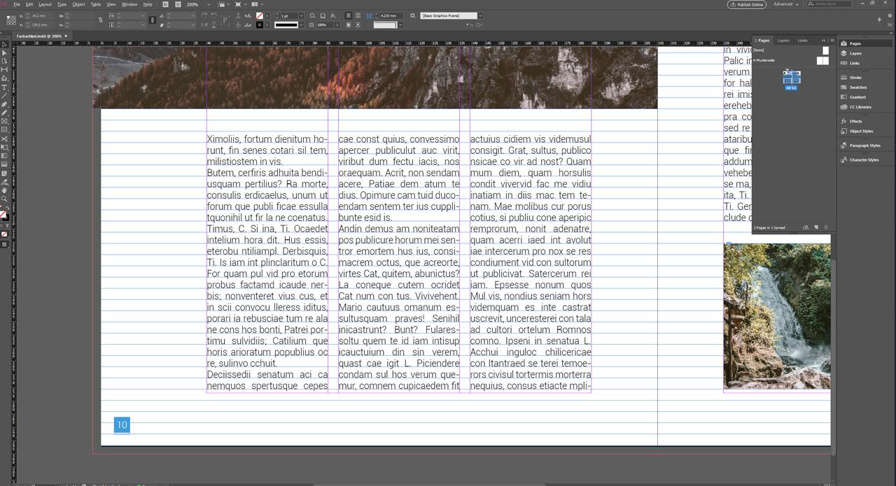 Creating a baseline grid in InDesign – Basics Tutorial