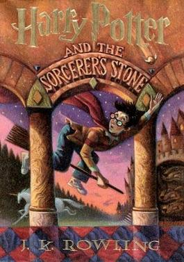Cover of the US edition Harry Potter and the Sorcerer's Stone