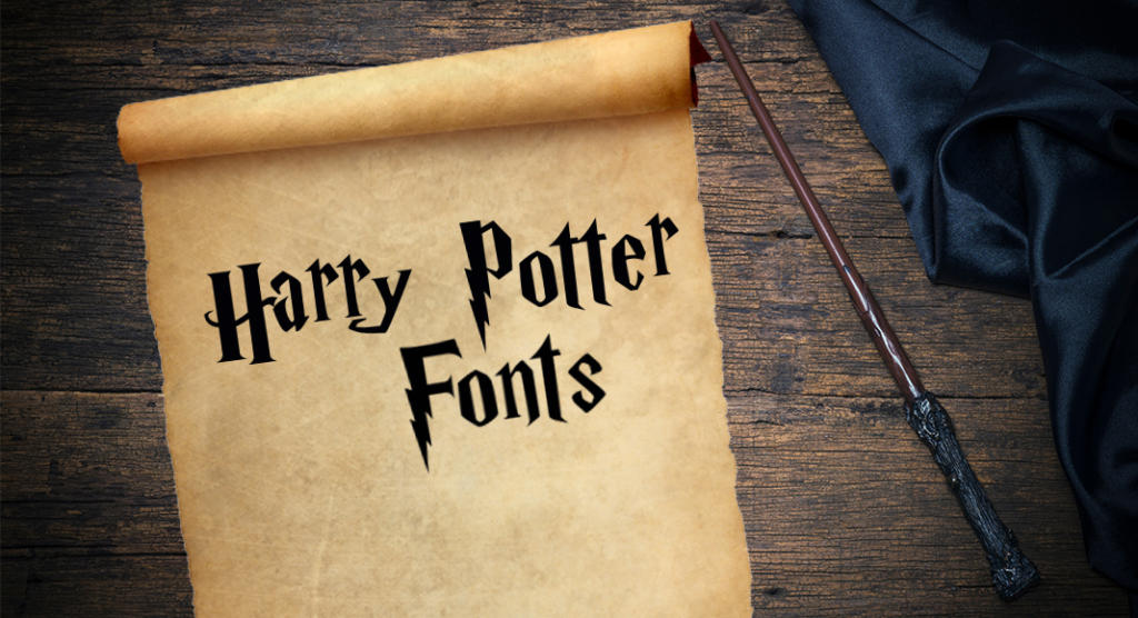 Harry Potter fonts – download magical typefaces